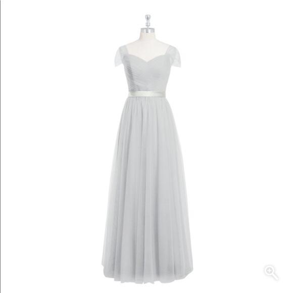 22c06da65a6 Azazie Dresses   Skirts - Azazie bridesmaid dress in Silver (style Maureen)